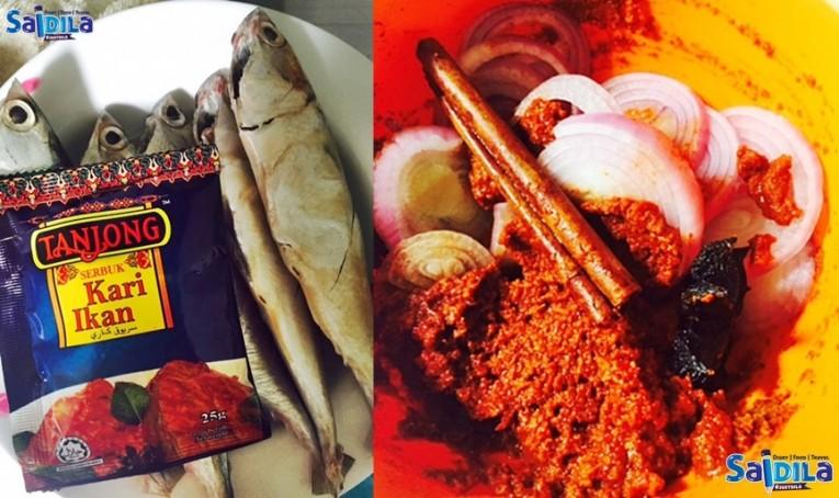 resepi kari ikan tanjong