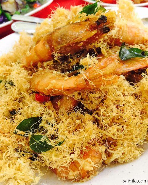 butter-prawn-sedap-restoran-blue-ginger