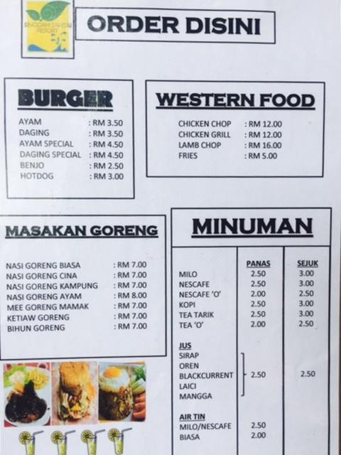 harga-makanan-singgah-santai-resort
