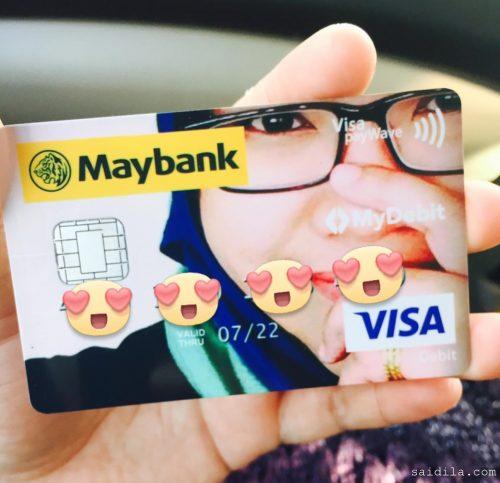 kad-debit-maybank-gambar-sendiri