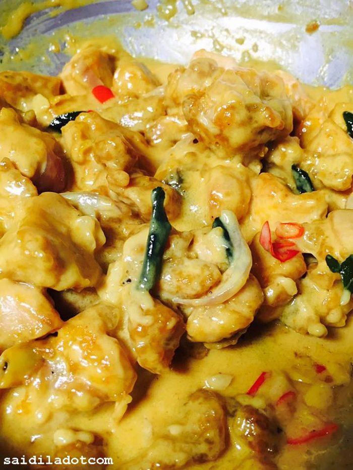 Resipi Butter Chicken Creamy Spicy Yang Sedap Dan Mudah Disediakan