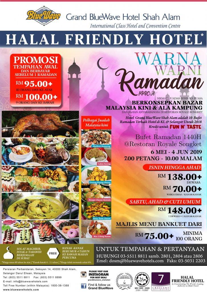 10 Senarai Buffet Ramadhan 2019 Sekitar Shah Alam Puchong Kuala Lumpur Saidiladotcom
