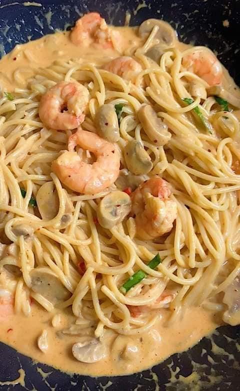 Resepi Spaghetti Aglio Olio Seafood