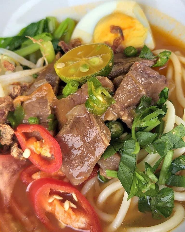 Spaghetti Kuah Daging